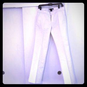 White Marc Jacobs pants wide leg